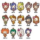 アイドルマスター ラバーストラップ BOX商品 1BOX =  14個入り、全14種類