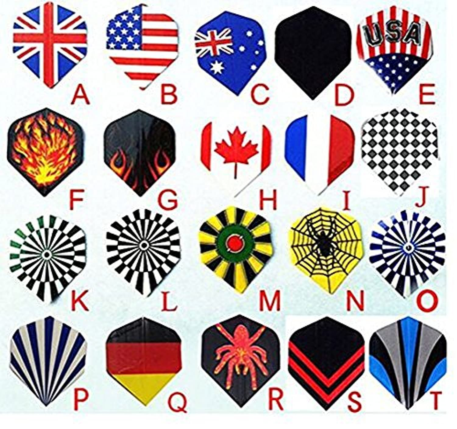 [インタービジネス]Interbusiness 16g Coppering Steel Tip Darts Needle Dart Flights [並行輸入品]