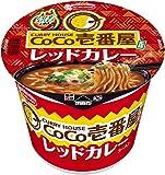 エースコック CoCo壱番屋監修 レッドカレーラーメン 110g×12個