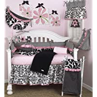 Cotton Tale Designs Girly 8 Piece Crib Bedding Set by Cotton Tale Designs