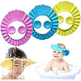 Baby Shower Cap Kids Shower Cap Safe Shampoo Shower Bathing Protection Baby Bath Accessories Bath Visor Adjustable Visor Hat