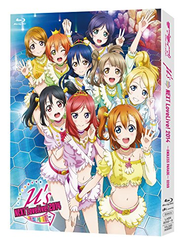 ラブライブ!μ's→NEXT LoveLive! 2014~ENDLESS PARADE~ Blu-ray Discの詳細を見る