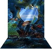 写真バックドロップwith床–Pandora–10x 20ft。–高品質シームレスなファブリック