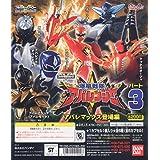フルカラーヒーロー 爆竜戦隊アバレンジャー3 全6種セット