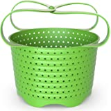 Avokado Silicone Steamer Basket for 3qt Instant Pot [6qt, 8qt avail] and Instant Pot Accessories - Strainer Insert with Silic