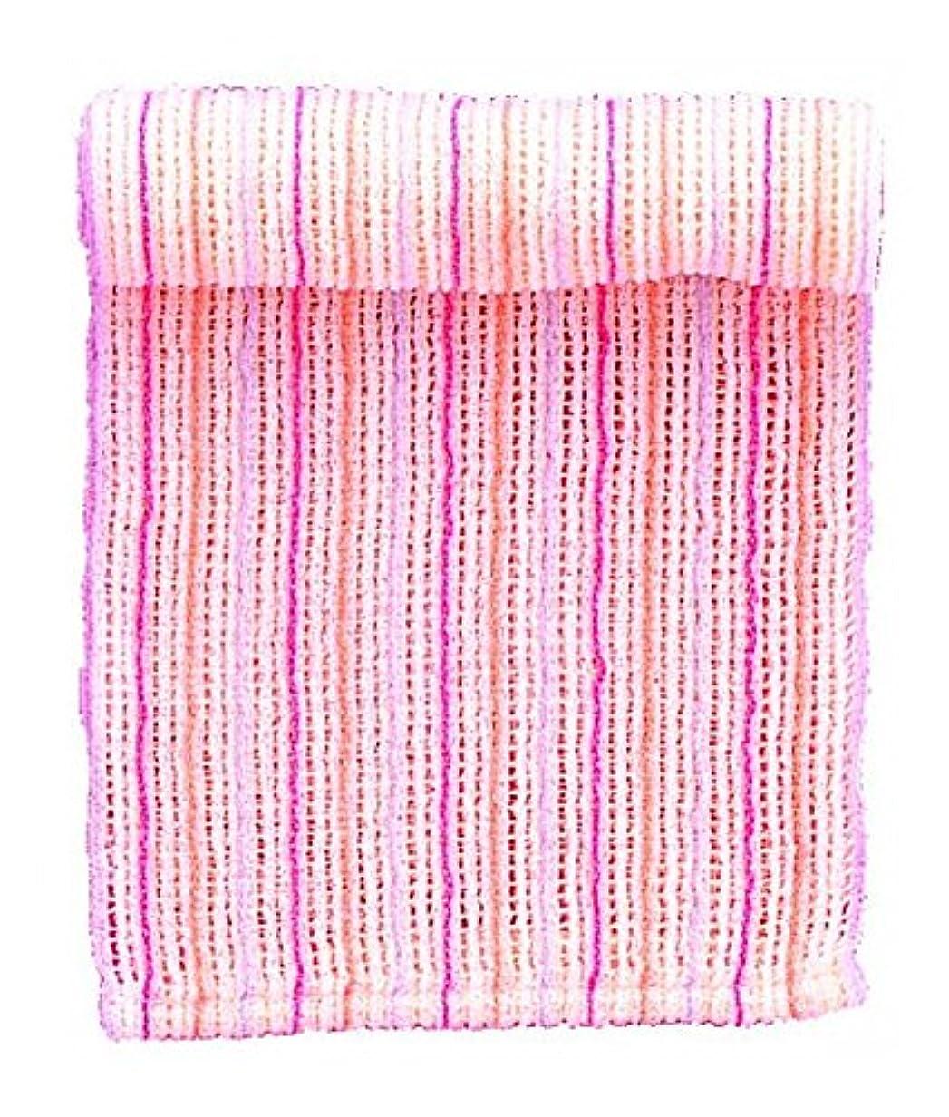 性別面面白いマーナ fooボディタオルふわわ ピンク B257P