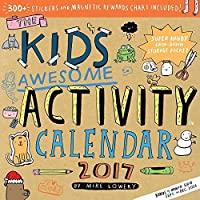 The Kid's Awesome Activity 2017 Wall Calendar [並行輸入品]
