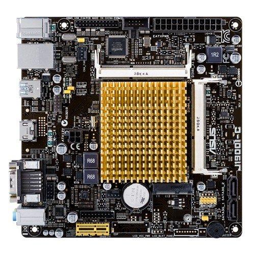 ASUSTek社製  Intel Celeron J1900クアッドコアCPUオンボード搭載 Mini-ITXマザーボード J1900I-C