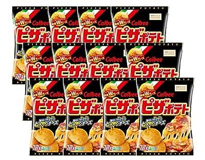 【12袋セット】カルビー ピザポテト 77g コンビニ限定サイズ