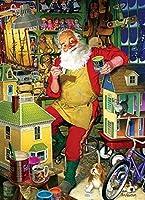 Cobble Hill Santa 'sワークショップジグソーパズル、1000-piece by Cobble Hill