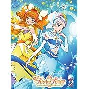 【Amazon.co.jp限定】Go!プリンセスプリキュア vol.2(ジャケットイラスト布ポスター(B2横型)付) [Blu-ray]