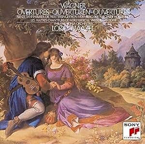 Amazon | ワーグナー:管弦楽曲集&交響組曲「タンホイザー」 | ロリン・マゼール | 交響曲・管弦楽曲・協奏曲 | 音楽