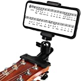 Mr.Power Guitar Bass Head Phone Holder Live Broadcast Bracket Clip for iPhone Samsung Smart Phones (Guitar Head Phone Holder)