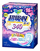 【花王】ロリエ超吸収ガード340 16コ入 ×20個セット