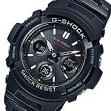 カシオ タフソーラー 腕時計 電波 AWG-M100SBC-1AJF ブラック [メンズ]【国内正規品】 [並行輸入品]