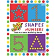 Dot Markers Activity Book: Easy Guided BIG DOTS   Do a dot page a day   Giant, Large, Jumbo and Cute USA Art Paint Daubers Ki