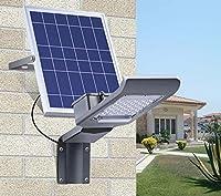 LEDソーラーライト、スマートリモートコントロールソーラー街路灯、超明るい防水灯、屋外庭のライト、屋外の壁のライト、20W、30W GJX (ワット数 : 30W)