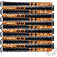 13ピースセット – ゴルフプライド – New Decade multi-compoundグリップオレンジ