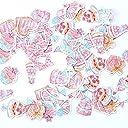 70枚入×8点セット560枚 手帳シール かわいい いろいろなシール 子供 人気 大量(生物)