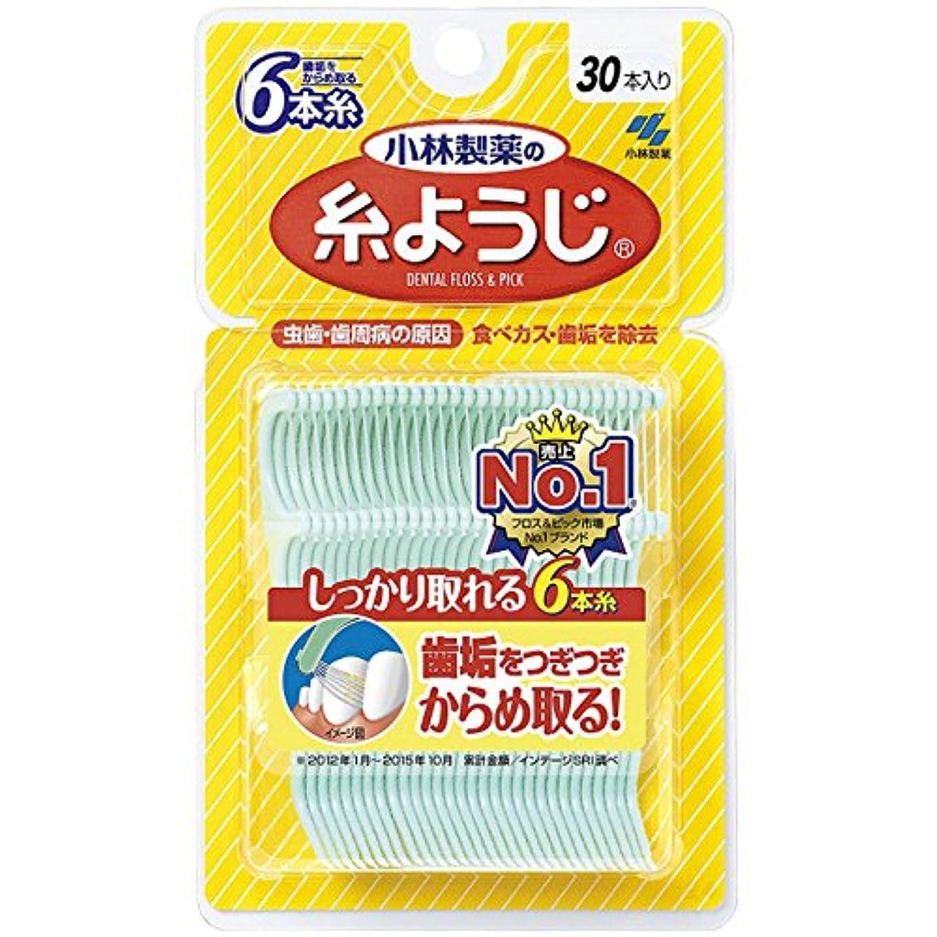 ケントみ広告小林製薬 糸ようじ 30本