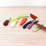 可愛い 6 個 野菜 エシャロット 箸置き箸スプーンフォークナイフ夕食の家のおもちゃの装飾