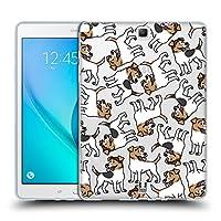 Head Case Designs パーソンラッセルテリア ドッグブリード・パターン 12 Samsung Galaxy Tab A 9.7 専用ソフトジェルケース
