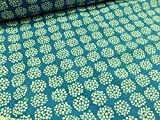 リップル 手まりアジサイ(紫陽花) ブルー |生地|布地|パジャマ|ワンピース|浴衣|ジンベイ|甚平|ブラウス|シャツ|ベビーウェア||服地|サマー|涼しい|