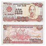 ベトナム/ 500ドンさわやかな非流通紙幣/本物の紙幣のグッズ紙幣。