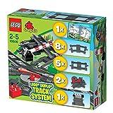 レゴ (LEGO) デュプロ トレインレールセット 10506