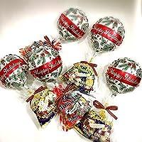 クリスマスバルーン×お菓子詰め合わせ5個セット