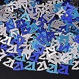 異なるパーティー番号誕生日装飾的なウェディング紙吹雪の祝賀