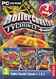 Rollercoaster Tycoon 1, 2 & 3 (PC CD) (輸入版)