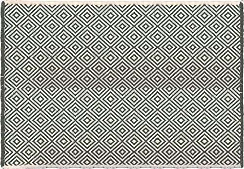 CALM BLEND インテリアマット/90×130cm ジオメトリ