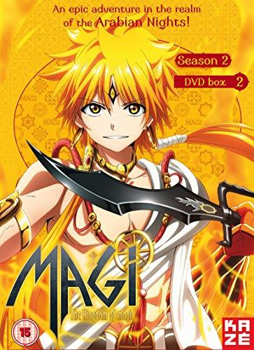 マギ The kingdom of magic(第2期) コンプリート DVD-BOX2 (14-25話完, 300分) 大高忍 アニメ [DVD] [Import] [PAL, 再生環境をご確認ください]