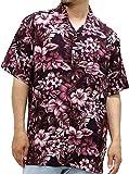 ROUSHATTE(ルーシャット) 大きいサイズ メンズ シャツ 半袖 アロハシャツ 柄3 4L