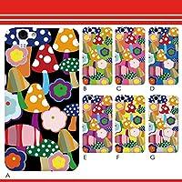 AQUOS PHONE ZETA SH-01F sh01f 人気 デザインケース デザイン: sc183-D ハードケース: クリア オシャレ かわいい POPきのこ おしゃれ女子 docomo スマホ ケース 激安 スマフォ ケース カワイイ スマートホン 大人 可愛い スマートフォン case キュート 携帯電話 カバー