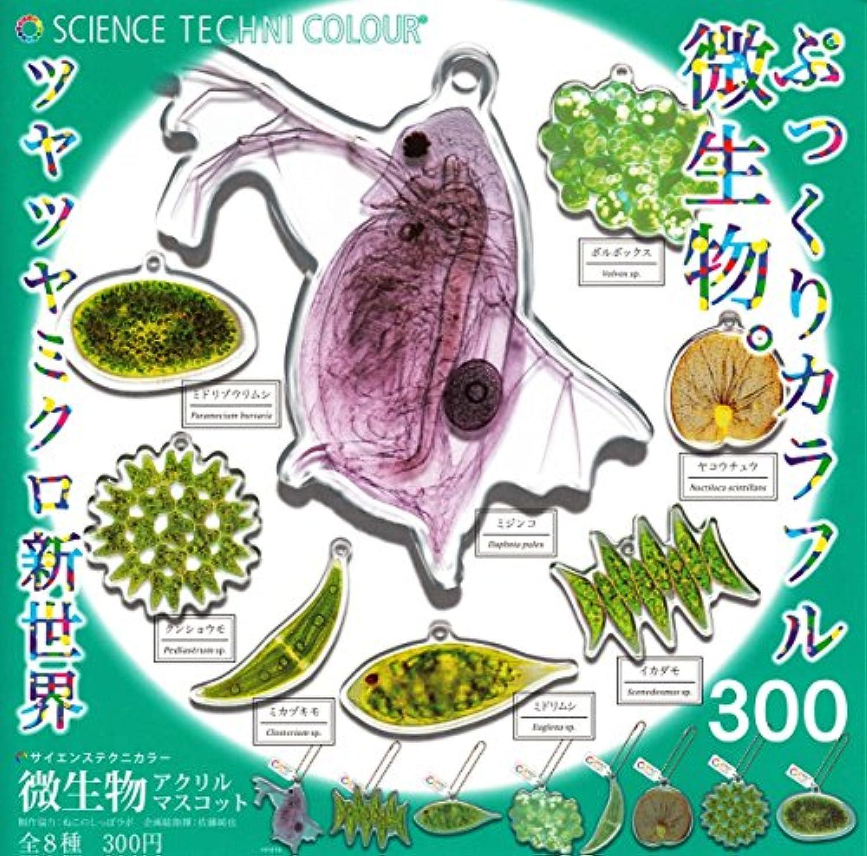 サイエンステクニカラー 微生物アクリルマスコット [全8種セット(フルコンプ)]