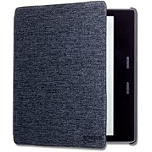 Kindle Oasis Water-Safe Fabric Cover (9th & 10th Generation) - Charcoal Black