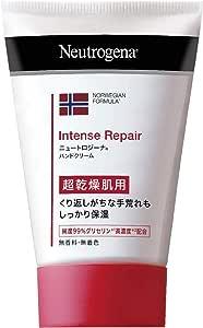 Neutrogena(ニュートロジーナ) ノルウェーフォーミュラ インテンスリペア ハンドクリーム [超乾燥肌用] しっとりクリームタイプ 保湿 手荒れ 無香料 50g