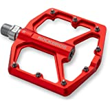 ROCKBROS Mountain Bike Pedals MTB Pedals 9/16-Inch Sealed Bearing Lightweight Aluminum Alloy Bicycle Platform Flat Pedals for