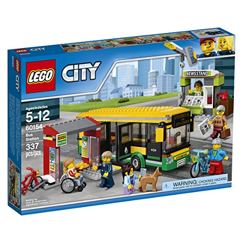 LEGO City Townバス駅60154建物キット( 337Piece )