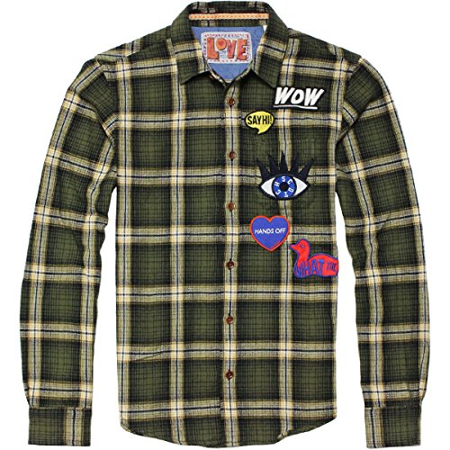 【スコッチ&ソーダ】MULTI-COLOURED FLANNEL SHIRT COMBO A フランネルシャツ SCOTCH&SODA
