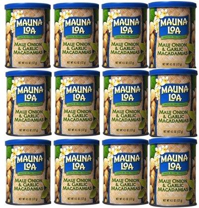 マウナロア オニオンガーリック マカダミアナッツ 4.5oz(127g)×【12缶】