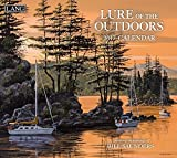 アウトドア用品 Lang 2017 Lure Of The Outdoors Wall Calendar 13.375 x 24 inches (17991001929) [並行輸入品]