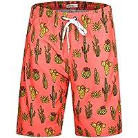APTRO Men's Board Shorts Swimwear Bathing Suits Trunks