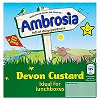 Ambrosia Devon Custard (4x125g) アンブロシアデボンカスタード( 4X125G )