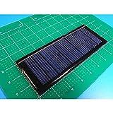 <太陽電池販売>工作用小型太陽電池 100x40mm 5v 80mA<psp-503>