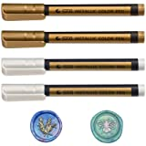 Triwol Wax Seal Pen Kit, Special Wax Seal Pen for Decorating Wax Seal Stamp, Fit All Wax Seal Beads or Wax Seal Sticks, Ideal