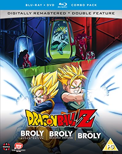 Dragon Ball Z Movie Collection Five: The Broly Trilogy - DVD/Blu-ray Combo - From USA.