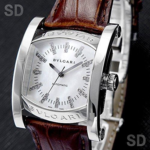 [ブルガリ]BVLGARI腕時計 アショーマ 44 オートマチック ホワイトシェル/ダイヤ Ref:AA44WSL/12 メンズ [中古] [並行輸入品]